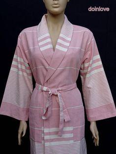 Women's rose pink colour soft cotton light weight dressing
