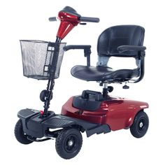 @Overstock.com - The Bobcat 4 Wheel Compact Scooter in Red by Drive Medical is ideal for indoor and outdoor use and is lightweight and easy to operate. It has a 35.4-inch turning radius, with a top speed of 4 mph. and a cruising range of 7.5 miles.http://www.overstock.com/Health-Beauty/Bobcat-4-Wheel-Compact-Scooter/7278632/product.html?CID=214117 $618.99