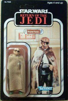 rare vintage kenner star wars Return of the jedi action-figure toy