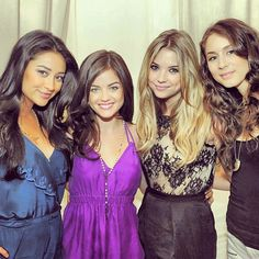 Pin for Later: 40 Photos of the Pretty Little Liars Girls That Will Give You Serious Squad Envy When They Somehow All Looked Flawless at the Same Time