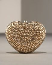 Judith Leiber Heart Pillbox ♥