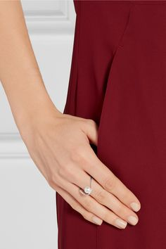 Maison Margiela | Silver-plated faux pearl ring | NET-A-PORTER.COM