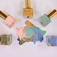 Need some nail polish. These are nice colors