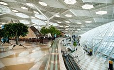 Baku's newly completed Heydar Aliyev International Airport terminal seems almost futuristic, with its softly coloured landscape dotted with large organic-shaped cocoons covered in latticework. Designed by Turkish style gurus Seyhan Özdemir and Sefer Ca...