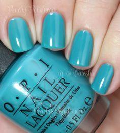 OPI Taylor Blue | Taylor's Gift Foundation | Peachy Polish