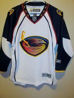 Reebok Atlanta Thrashers Hockey Jersey , Youth Large / X-large - Hockey-NHL
