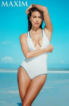 Irina Shayk For Maxim USA July/August 2014