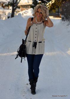 Super cute MINUS THE SNOW! (what?!)