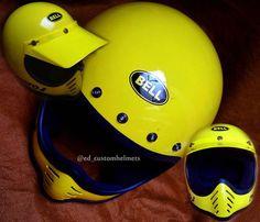 Ready Stock!!! The yellow sub marine  Size L fit XL  Include cap  Fast response whatsapp 081229222323  #moto3 #helm #helmet #vintage #vespa #caferacer #scramble #dirtbike #replika #vespaindonesia #bikers #ride #motorcycle #handpaint #paintworks