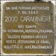 La deportazione dei Carabinieri romani nei Lager nazisti