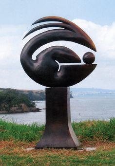 Paul Dibble, 'Soft Geometric 3' (2004). Art Sculpture, Garden Sculpture, New Zealand Art, Nz Art, Virtual Art, Outdoor Art, Stone Carving, Public Art, Yard Art