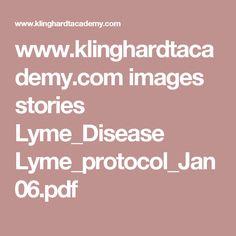 www.klinghardtacademy.com images stories Lyme_Disease Lyme_protocol_Jan06.pdf