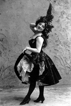 Beautiful Edwardian burlesque/Vaudeville/circus/Ziegfeld costume