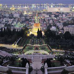 Haifa, Israel  (Reprinted with permission of the Bahá'í International Community)
