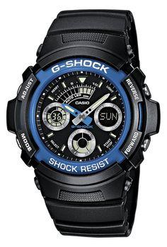 Casio G-Shock AW-591-2AER férfi karóra. Letisztult, sportos külsőt kapott. A mai kornak megfelelően az óra elemes óraszerkezettel működik. Extrém vízállósággal készültek ezért az óra könnyű búvárkodásra is alkalmas. OLVASS TOVÁBB!