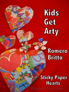 Kids Get Arty: Romero Britto from The Good Long Road