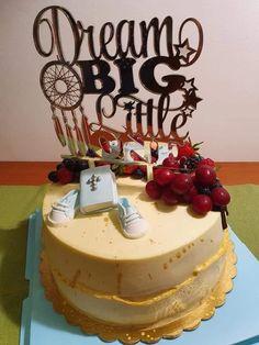 "Topper tort ""Dream Big Little One"" – Tomvalk Big Little, Dream Big, Birthday Cake, Desserts, Food, Tailgate Desserts, Birthday Cakes, Dessert, Postres"