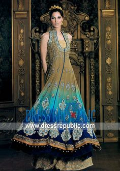 Colorant Rous, Product code: DR4475, by www.dressrepublic.com - Keywords: Nilofer Shahid 2011 Collection, Nilofer Shahid Bridal Collection 2011, Nilofer Shahid Collection