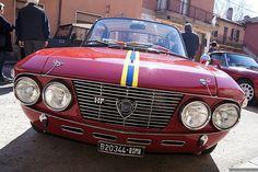 Red Marvel - Lancia Fulvia Coupe HF