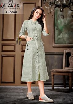 Designs For Dresses, Dress Neck Designs, Blouse Designs, Kurti Sleeves Design, Kurta Neck Design, Frock For Women, Western Dresses For Women, Kalamkari Dresses, Fancy Kurti