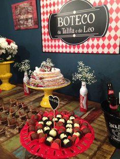 Placa - Boteco Birthday Cake, Ps, Desserts, Birthday Accessories, Christmas Birthday, Theme Ideas, Shower Party, Gatos, Tailgate Desserts