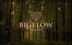 Unique Logo Design on the Internet, Bigelow Tea #logodesign #brandidentity #tea
