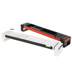 Multi-Functional Stationery STICK / Desk Organizer / iPhone Holder/ Card Reader (with 3Port USB Hub) White
