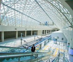 World's Most Beautiful Airport  Incheon International Airport, South Korea    Beauty Mark: Visit the Pine Tree Garden in Millennium Hall and the Wildflower Garden in the basement of the Transportation Center.