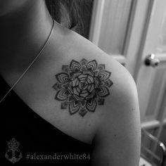 #tattoo#tattoominsk#dotwork#dotworktattoo#mandala#mandalatattoo