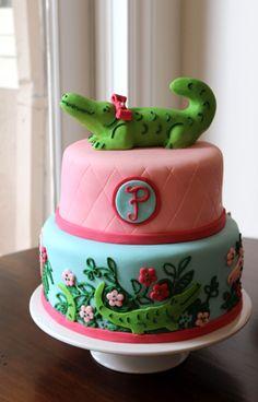 Later Gator Cake from Jana's Fun Cakes - super cute