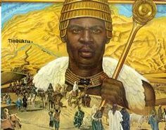 Mansa Musa, either the grandson or the grandnephew of Sundiata, the founder of his dynasty, came to the throne in 1307. In the 17th year of his reign (1324), he set out on his famous pilgrimage to Mecca. It was this pilgrimage that awakened the world to the stupendous wealth of Mali. Cairo and Mecca received this royal personage, whose glittering procession, in the superlatives employed by Arab chroniclers, almost put Africa's sun to shame.