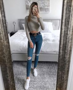 Cute Outfits With Leggings, Cute Lazy Outfits, Summer Outfits For Teens, Teenage Girl Outfits, Teen Fashion Outfits, Teenager Outfits, Pretty Outfits, Fall Outfits, Dress With Sneakers