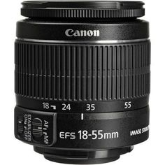 NEW-Canon-EF-S-18-55mm-f-3-5-5-6-IS-II-Lens-For-Canon-DSLR-Zoom-Lens