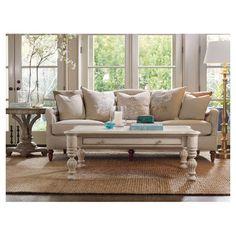 Pretty Neutral Sofa Coffee Table