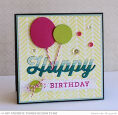 """MFT """"Happy"""" sentiment from the Happy Die-namics card - bjl"""