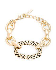 The Reptile Chain Bracelet by JewelMint.com, $29.99