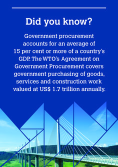 Government Procurement Agreement: Opening markets and promoting good governance   World Trade, 20 Years, Knowing You, Skyscraper, Skyscrapers