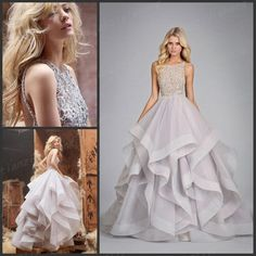 Wholesale Ball Gown Wedding Dresses - Buy 2014 New Arrival Luxurious Jewel Crysatl Beading Pearls Sleeveless Backless Tiered Ruffles Organza Ball Gown Wedding Dress T4 La Boda, $178.22 | DHgate