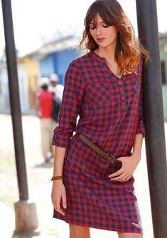 Kostkované košilové šaty #ModinoCZ