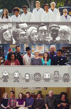 This why community is my favorite sitcom Best Tv Shows, Best Shows Ever, Favorite Tv Shows, Community Tv Series, Parks N Rec, Comedy Show, Film Serie, Community College, Movies Showing