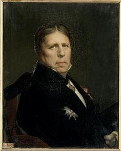 Jean-Auguste Dominique Ingres (1780-1867) : Autoportrait (1859 - Versailles)