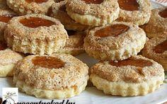 Dióhabos lekváros linzer recept fotóval Sweet Cookies, Cake Cookies, Krispie Treats, Rice Krispies, Cake Recipes, French Toast, Cheesecake, Muffin, Breakfast