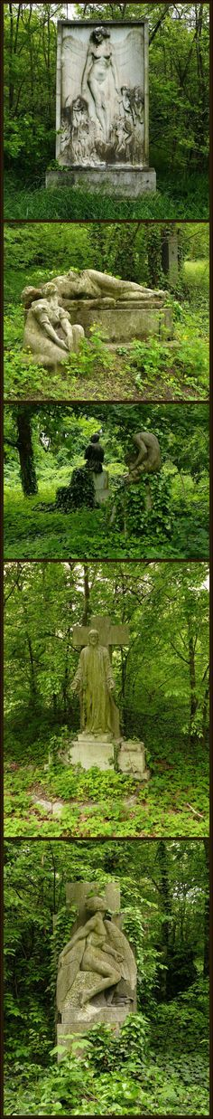 Abandoned cemetery by Renegadeofpeace This must have been beautiful in it's day.