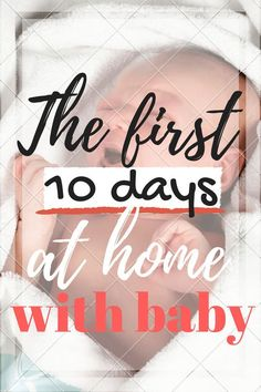 The first 10 days at home with a new baby. There were some tears, many kisses and a LOT of lesson learned. What every expectant mom needs to read to be prepared!