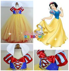 Snow White Tutu Dress-Snow white dress Snow white by GlitterMeBaby