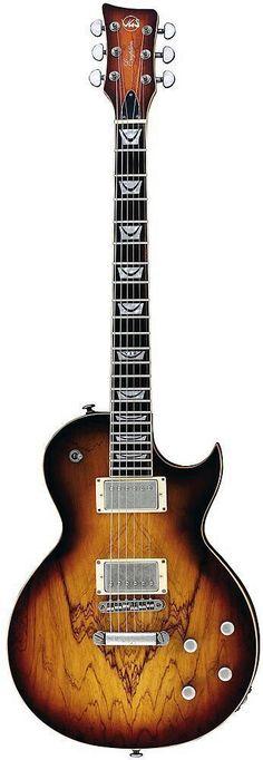 VGS Eruption Classic Select Electric Guitar in Yellowed Tobacco Burst #beautifulguitars