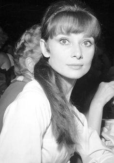 Audrey Hepburn in Los Angeles, c.1958.