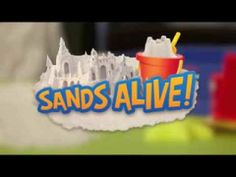 SANDS ALIVE! A brand new indoor play sand that ain't sand.