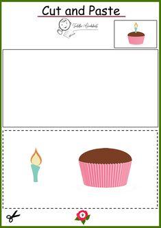 free preschool cutting worksheets Toddler Worksheets, Preschool Worksheets, Free Preschool, Cut And Paste, Preschool Printables