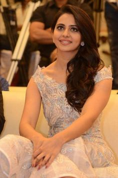Rakul Preet Singh Latest Stills at Khakee Movie Audio Beautiful Girl Indian, Most Beautiful Indian Actress, Beautiful Gorgeous, Beautiful Bollywood Actress, Beautiful Actresses, South Indian Actress, South Actress, Indian Beauty Saree, Indian Celebrities